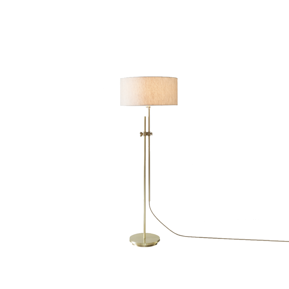 Workstead lighting shaded brass floor lamp mozeypictures Gallery