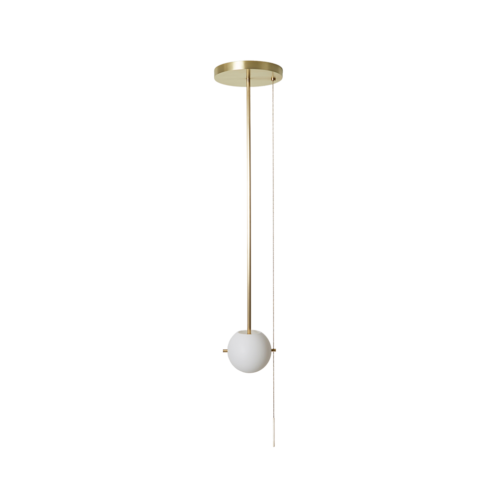 Signal Pendant Brass Bronze Ceiling Light Fixture